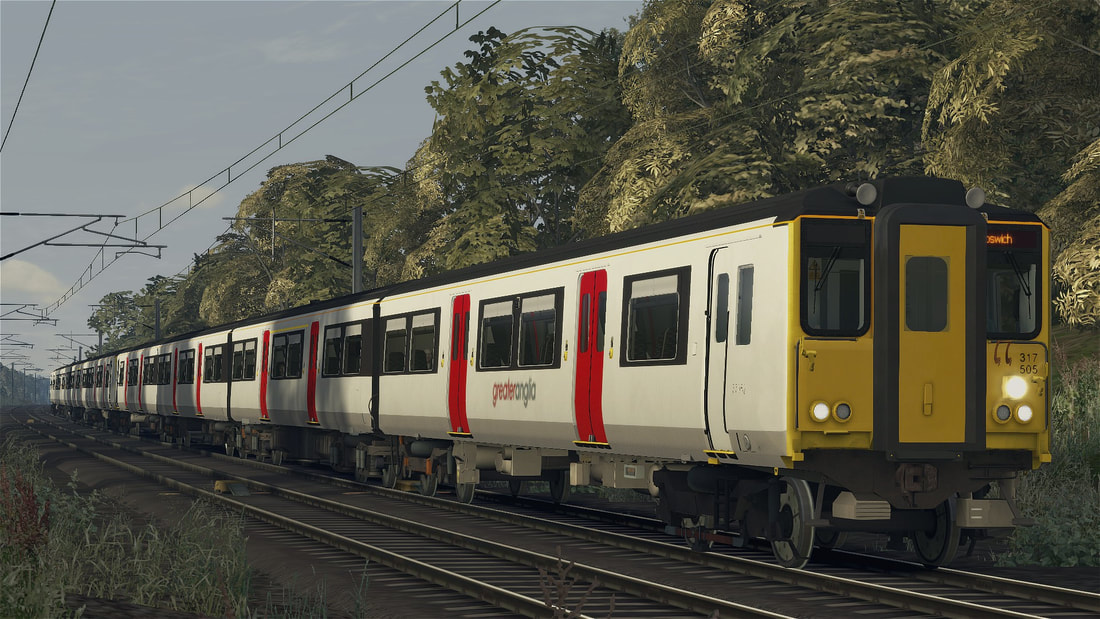 Class 317 5 8 Emu Superalbs